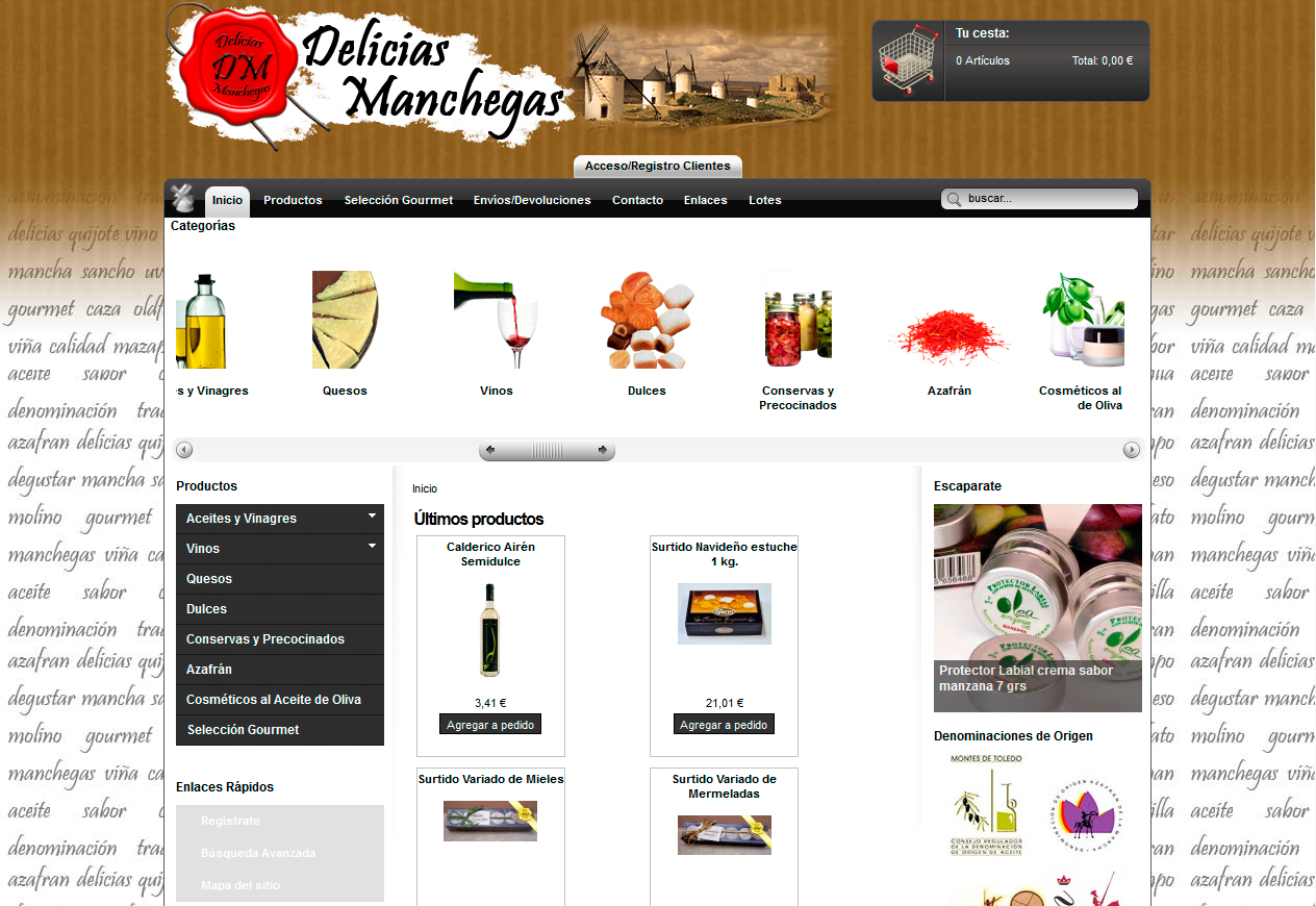 Delicias Manchegas